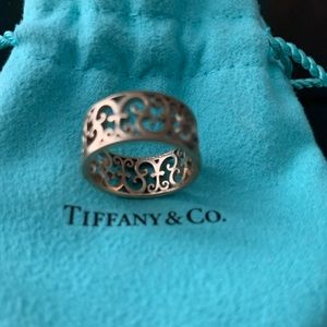 Tiffany & Co. Rose gold Enchanted ring size 8.5